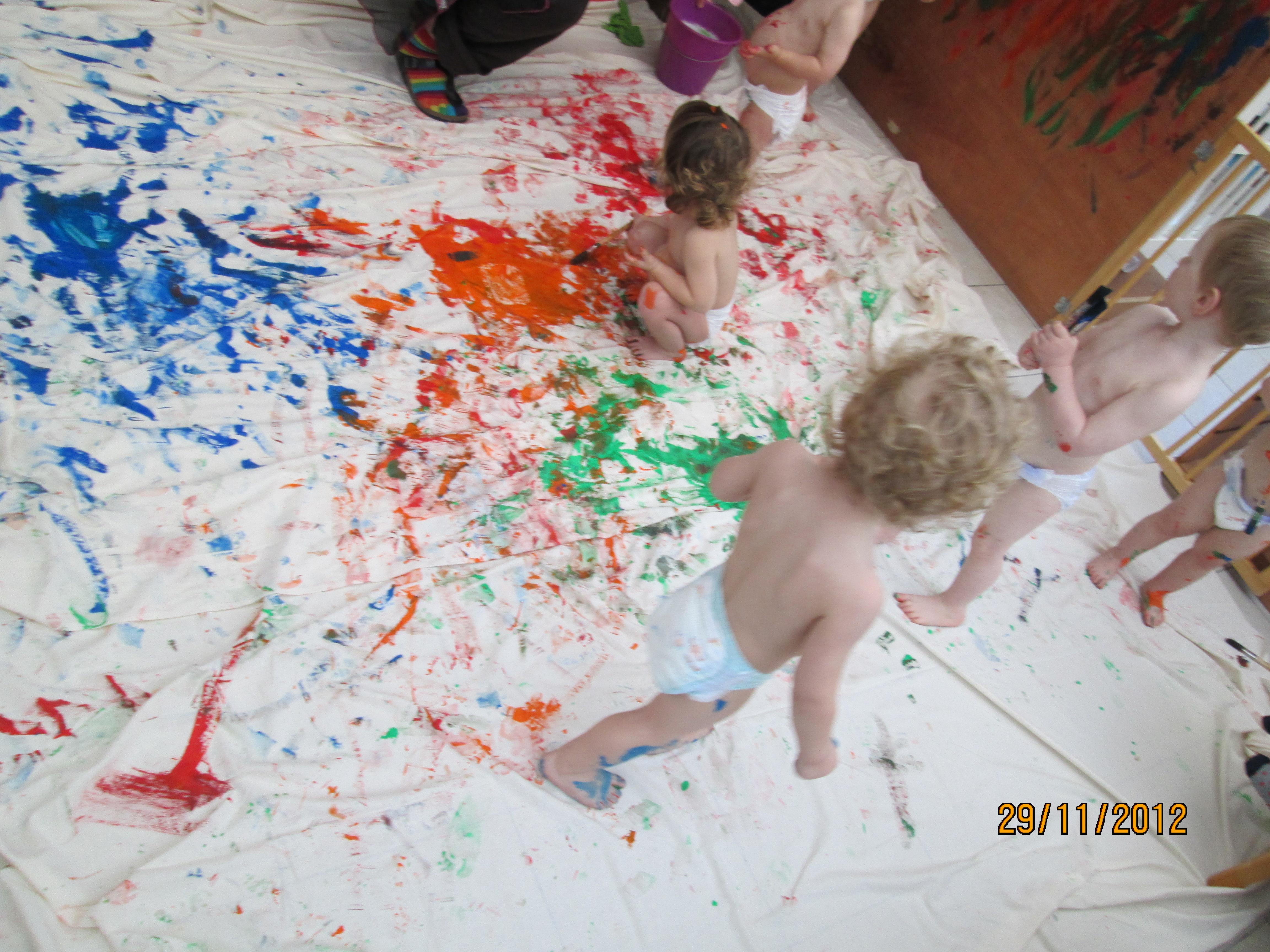 Het grote schilderproject